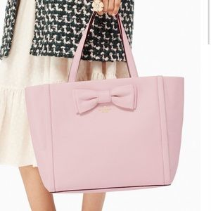 Kate Spade Murray Street Bow Pink Leather ayote 💗